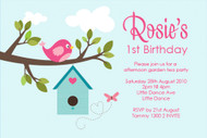 Home Sweet Home Birthday Party Invitations