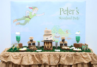 Peter Pan Neverland Party Birthday Invitations