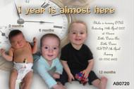 1 year milestone Birthday Party Invitation