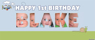 Party Banner - Name Frame Birthday Banner