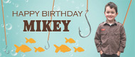 Party Banners - Get Hooked Fishing Party Banner