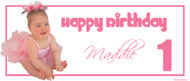 Party Banners - Girls Birthday Banner