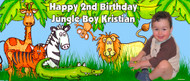 Party Banners - Jungle Party Banner