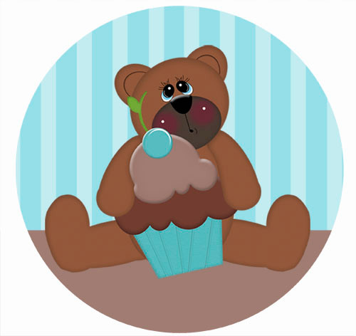Teddy Bear Party Labels & Stickers