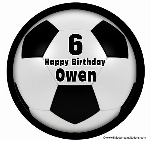 Cool Soccer Ball Birthday Cake Icing Soccer Ball Cake Topper Soccer Funny Birthday Cards Online Overcheapnameinfo