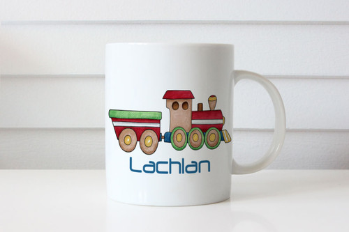 Train Personalised Mugs
