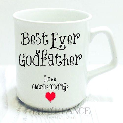 Best Ever Godfather Personalised Mug Gift