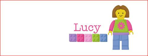 Girls Lego Personalised Mugs