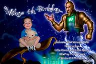 Magica Carpet Birthday Party Invitation