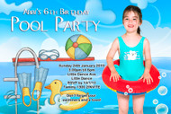 Pooly Party Invitations