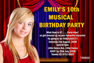High School Musical Birthday Party Invitation