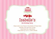 Sweet & Treats Party Invitation