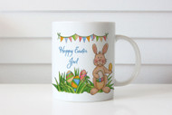 Personalized Easter Gift - Personalized Coffee Mug - Easter bunny theme