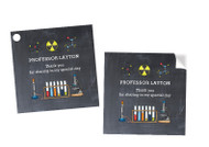 Chemistry Science Party Personalised Party Stickers, Labels and Tags.