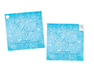 Frozen Party Personalised Party Stickers, Labels and Tags.