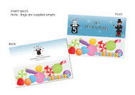 Magic Magician Personalised Party Favour Lolly Bags.