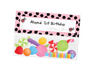 Pink Ladybug Party Lollybags
