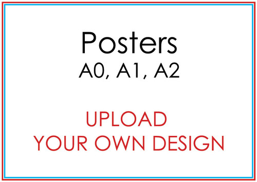 Upload your Own Design Printed Backdrops and Posters