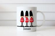 Toy Soldier Personalised Childrens Mug