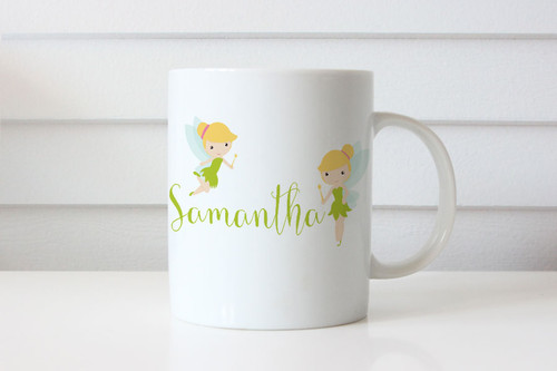 Tinkerbell Fairy Personalised Mug