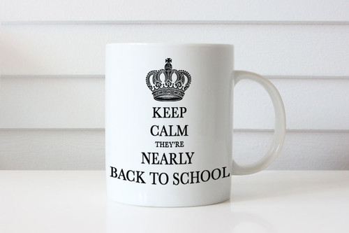 Keep Calm Almost Back to School Coffee Mug - Keep Calm Almost Back At School Coffee Cup