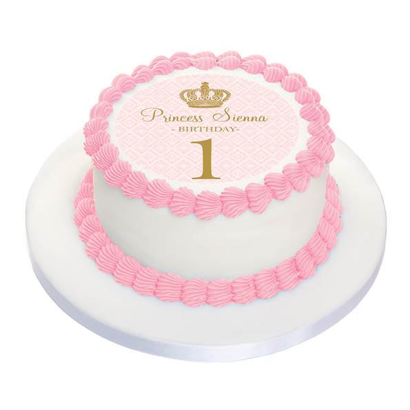 Awesome Birthday Cake Edible Image Personalised Birthday Cards Veneteletsinfo