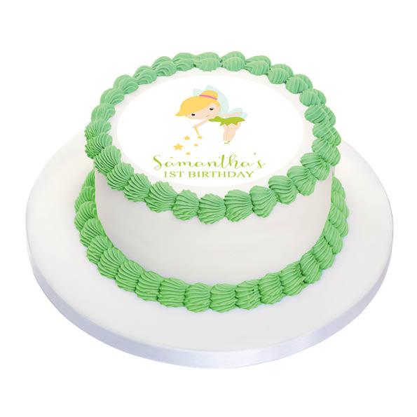 Tinkerbell Birthday Cake Icing