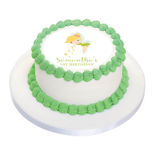Tinkerbell Cake Icing Edible Image Frosting Sheet. Printed in Australia