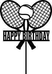Tennis Cake Topper