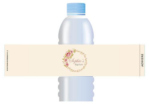 Personalised Waterbottle Labels