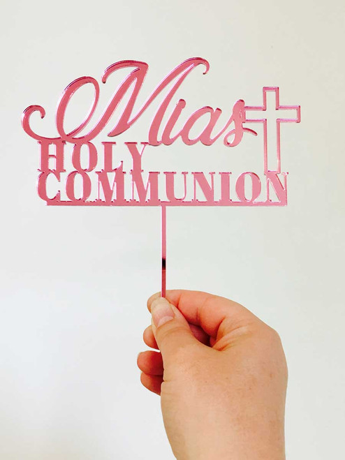 Holy Communion Cake Topper or Cake Decoration