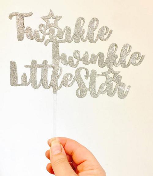 Twinkle Twinkle Little Star Cake Decoration Topper