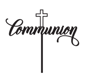 Generic Communion Cake Topper