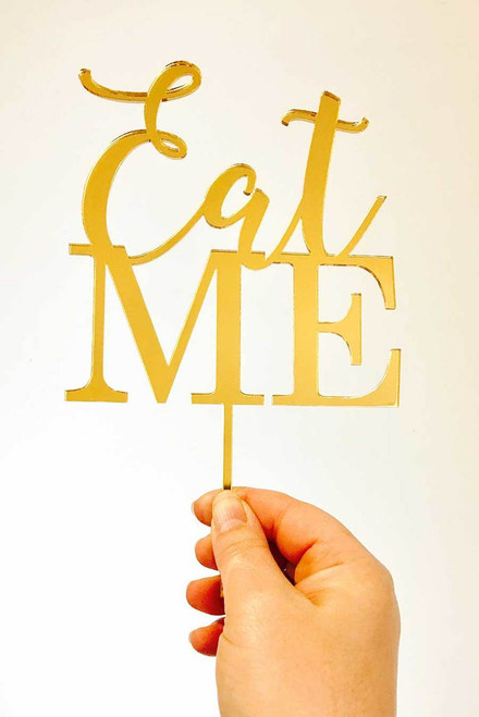 Eat Me Cake Decoration Topper