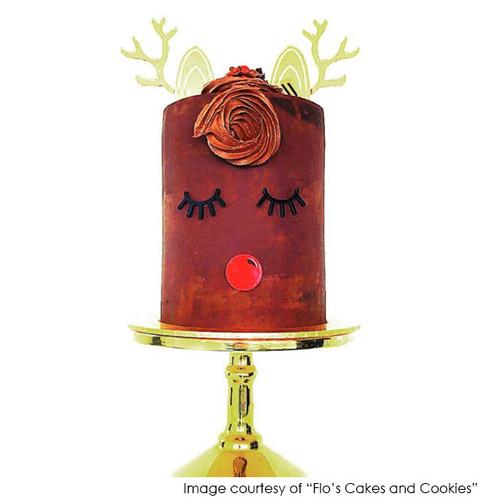 Christmas Ruldolph Cake Decorating Kit - Laser Cut Christmas Cake Decorations made in Australia
