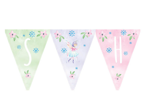 Fairy Leaves party bunting