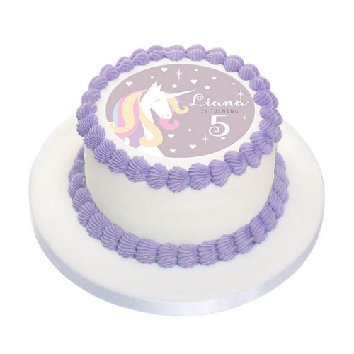 Unicorn Edible Image