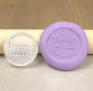 Nanny's Cookies generic cookie and fondant stamp