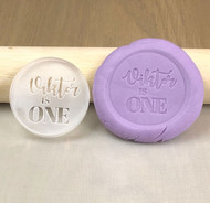 Custom Name & Age birthday cookie stamps