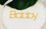 Modern Wedding Table Placecards - Laser Cut - Australian made