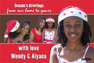 Personalised photo Festive Season cards online