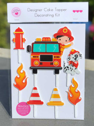 Fireman, Firefighter DIY cake decorating kit