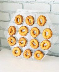 Hexagon Donut Wall Stand - Donuts