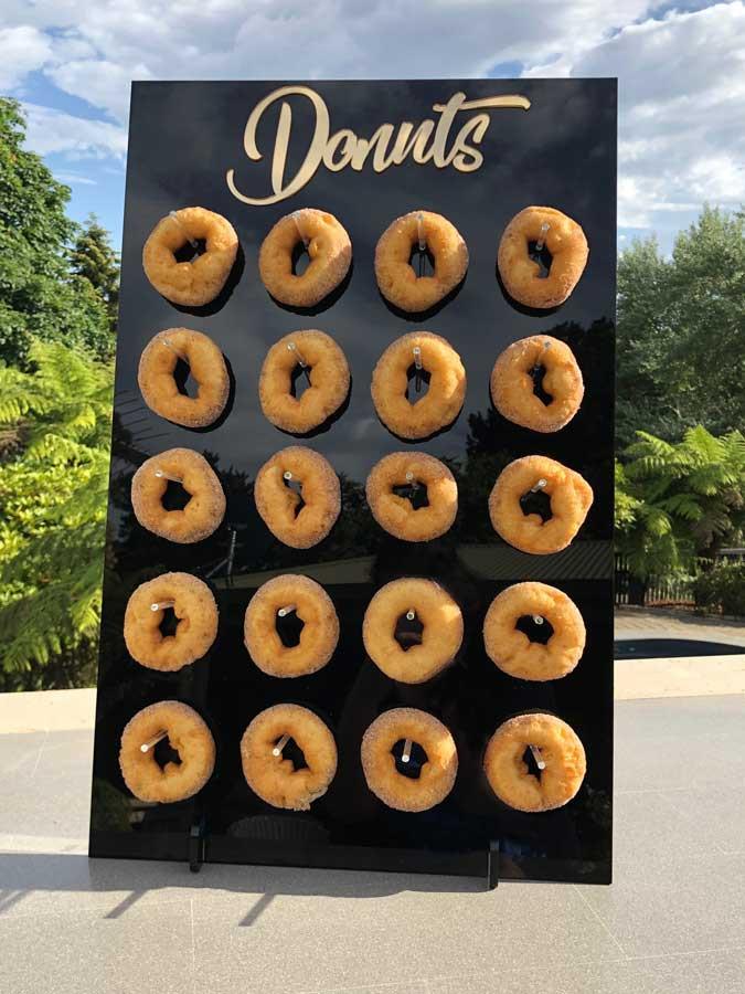 Freestanding Wedding Donut Stand Birthday Party Donut