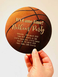 Basketball Invitation