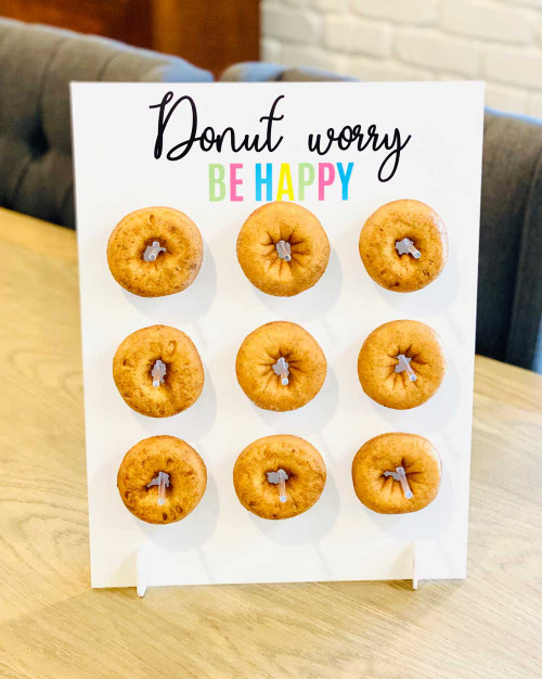 Donut Worry Be Happy Donut Stand