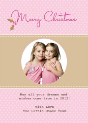 Personalised photo Christmas card - buy online in Australia