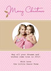 Personalised photo Christmas card - buy online in Australia