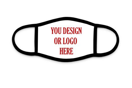 Custom design or logo custom face mask