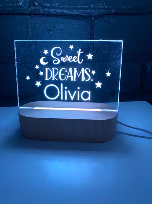 Kids bedroom Sweet Dreams night light